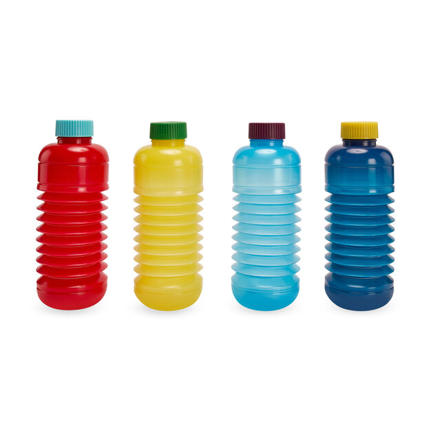 Squeasy Water Bottle in color Red/ Light Blue