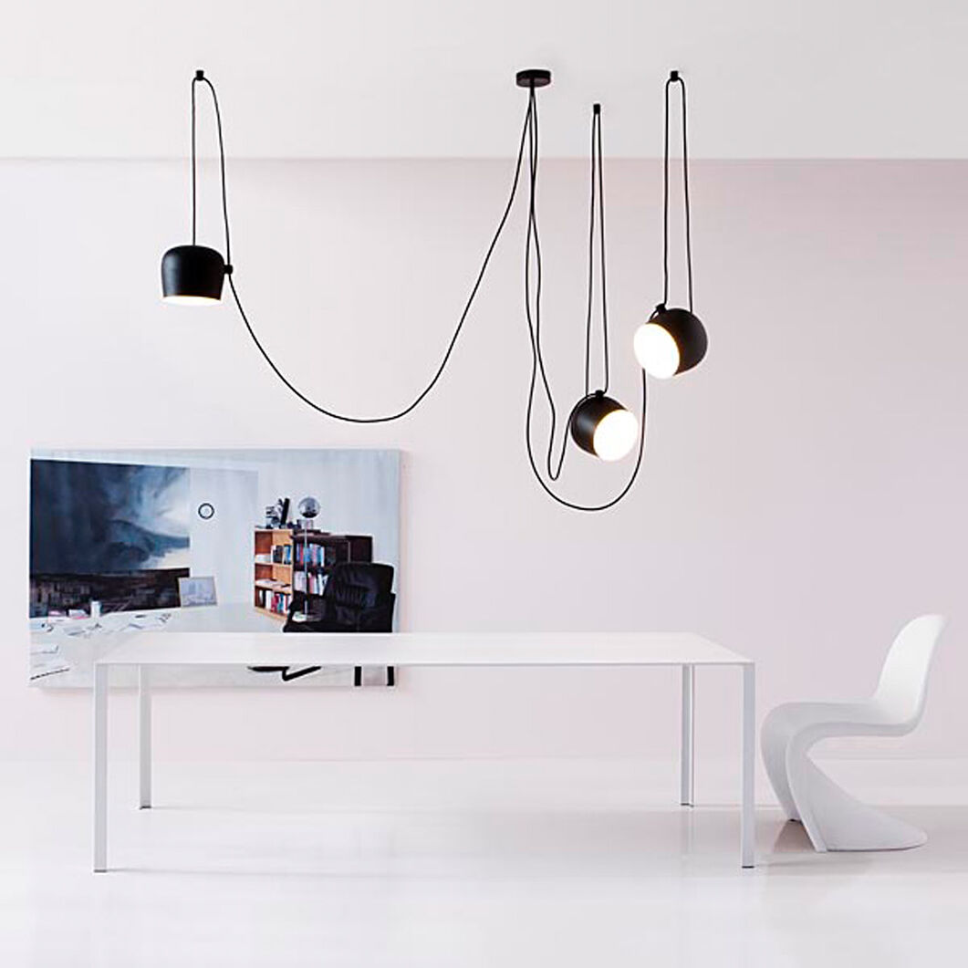 AIM Pendant Light, Set  of 3 in color Black