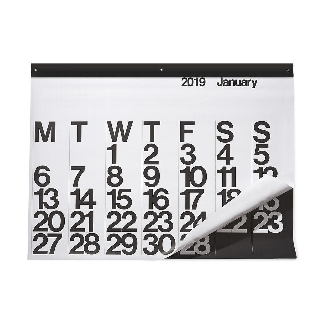 2019 Stendig Poster Calendar in color