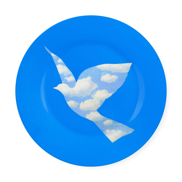 Magritte: Dove Plate in color