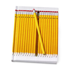 Notebook Hidden Yellow Pencils in color Yellow