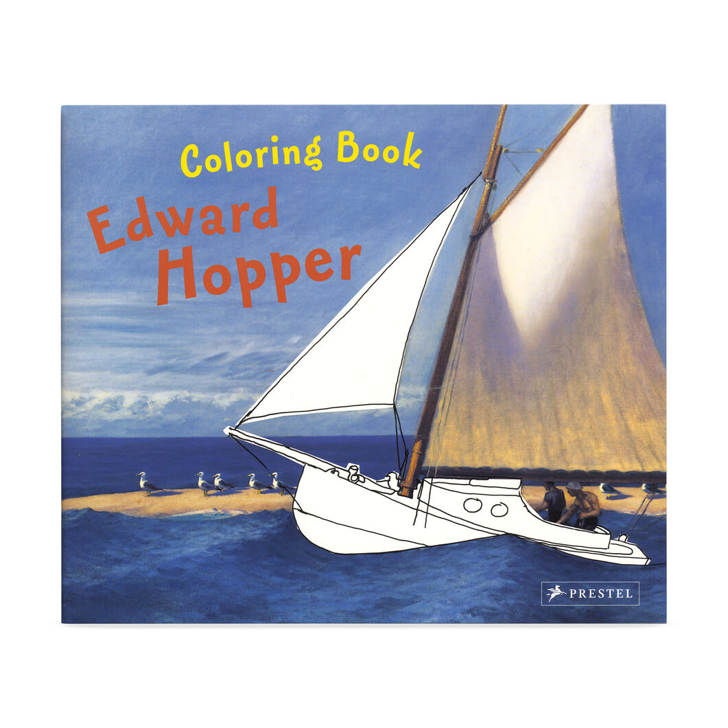 Coloring Book Edward Hopper in color