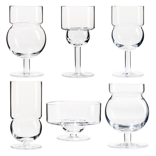 Sferico Glassware Set in color