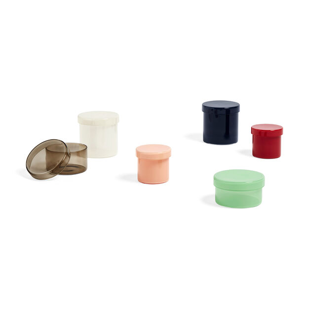 HAY Small Glass Containers in color Nude