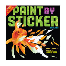 2019 Paint by Sticker Calendar in color