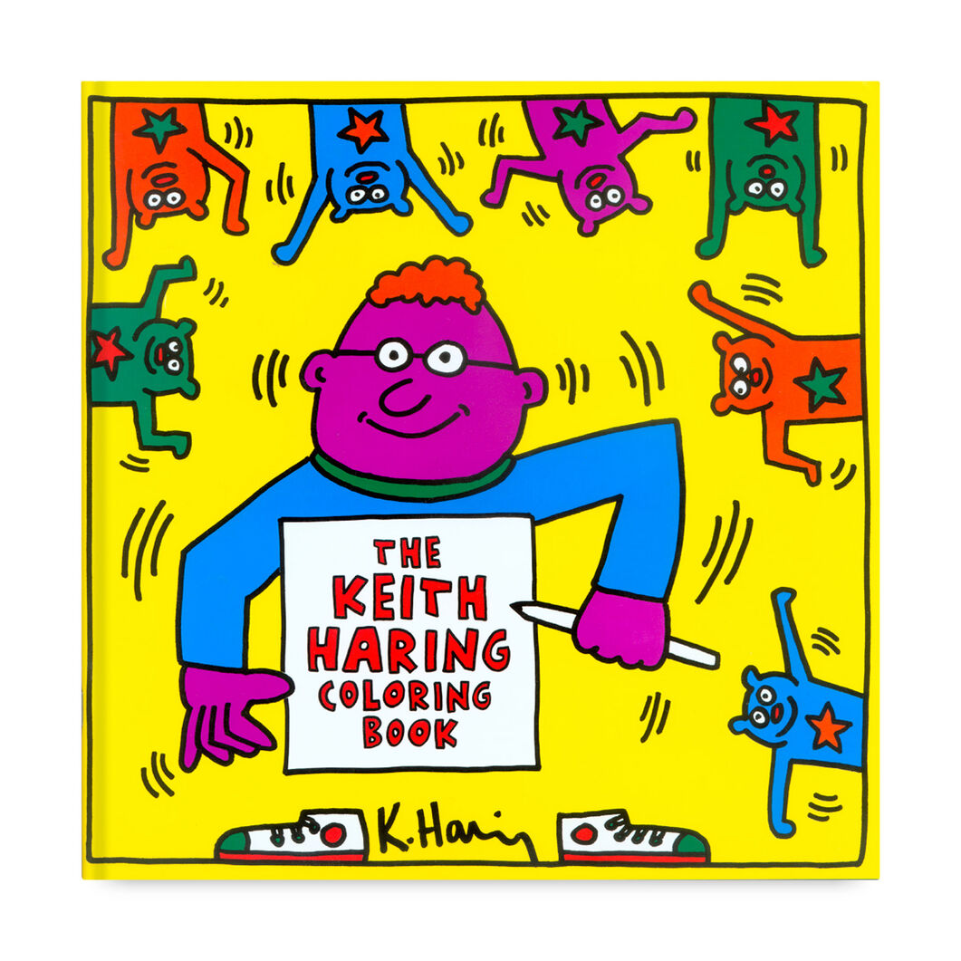 Keith Haring Coloring Book in color
