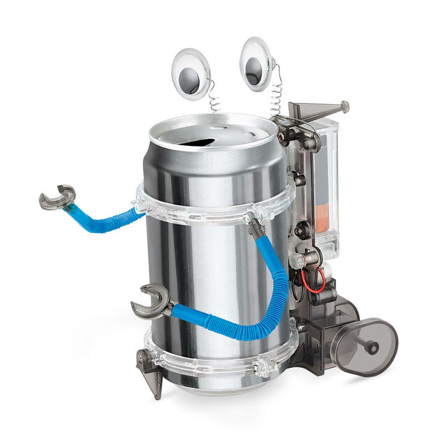 Tin Can Robot Kit in color