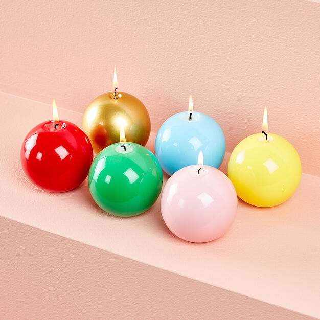 Meloria Ball Candle in color