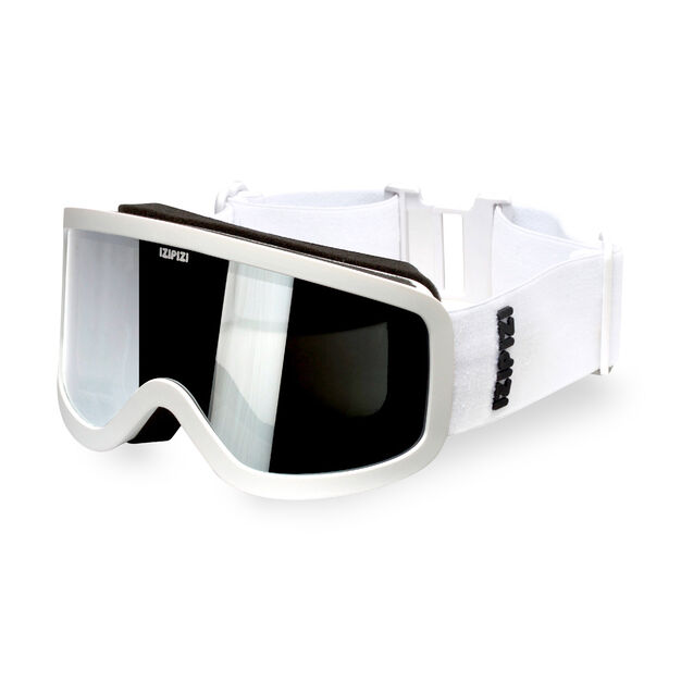 IZIPIZI Sun Snow Ski Goggles in color White