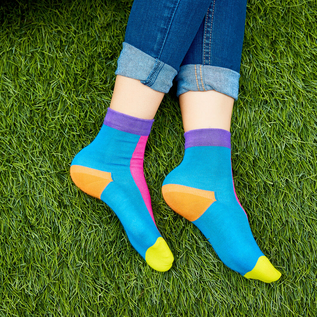 Kids' Happy Socks for MoMA - Set of 4 in color