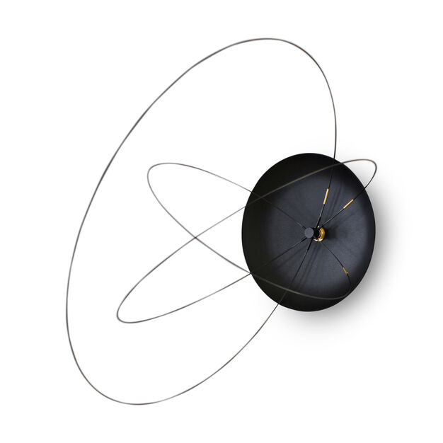 Orbits Clock in color