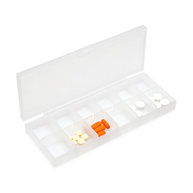 Large Pill Case in color White