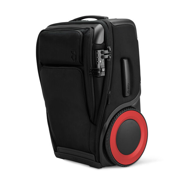G-RO Suitcase in color Red
