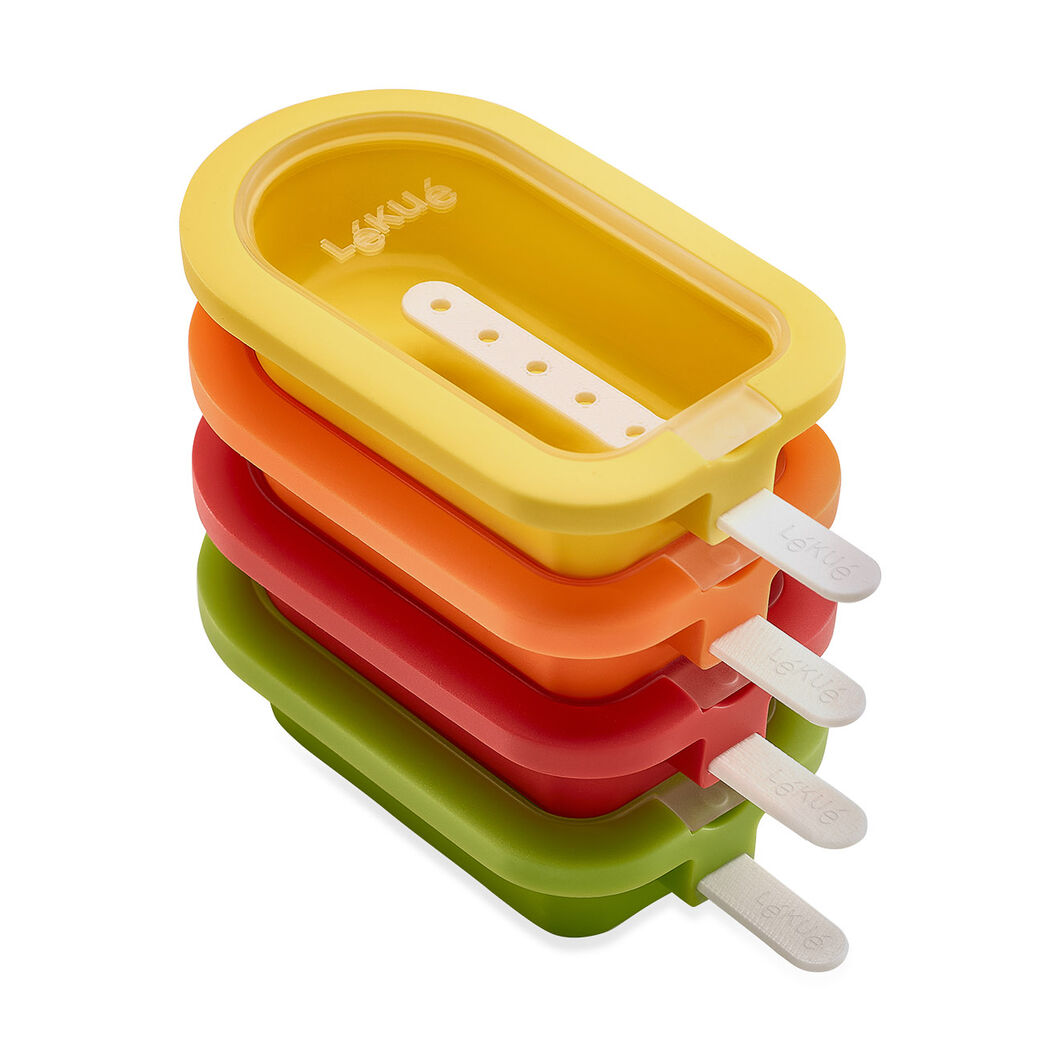 Stackable Popsicle Molds in color