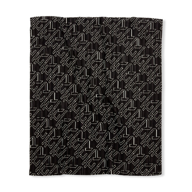 PLEATS PLEASE ISSEY MIYAKE Oh-Tube for MoMA Scarf in color Black