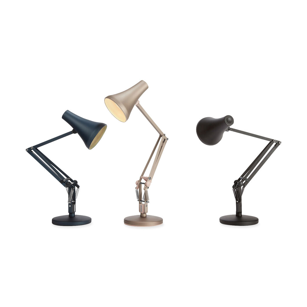 Anglepoise USB 90 Mini Mini Desk Lamp in color Warm Silver
