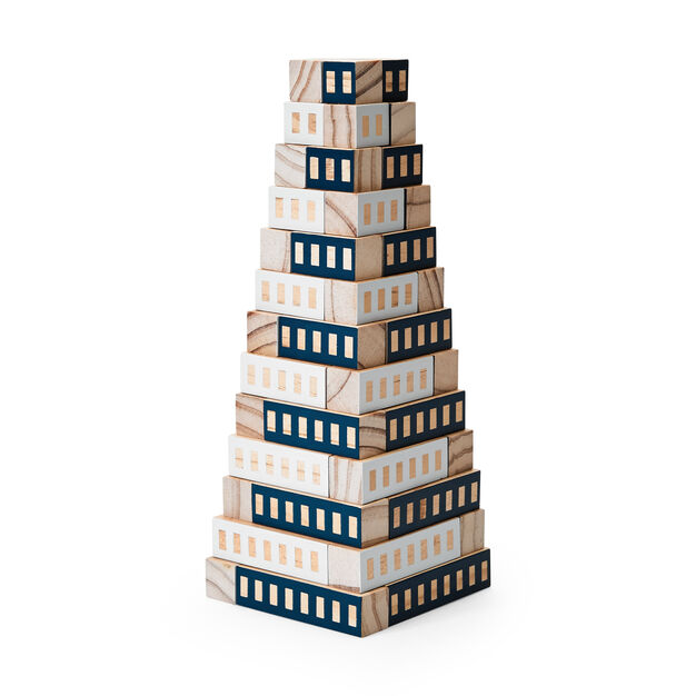 Blockitecture Tower in color