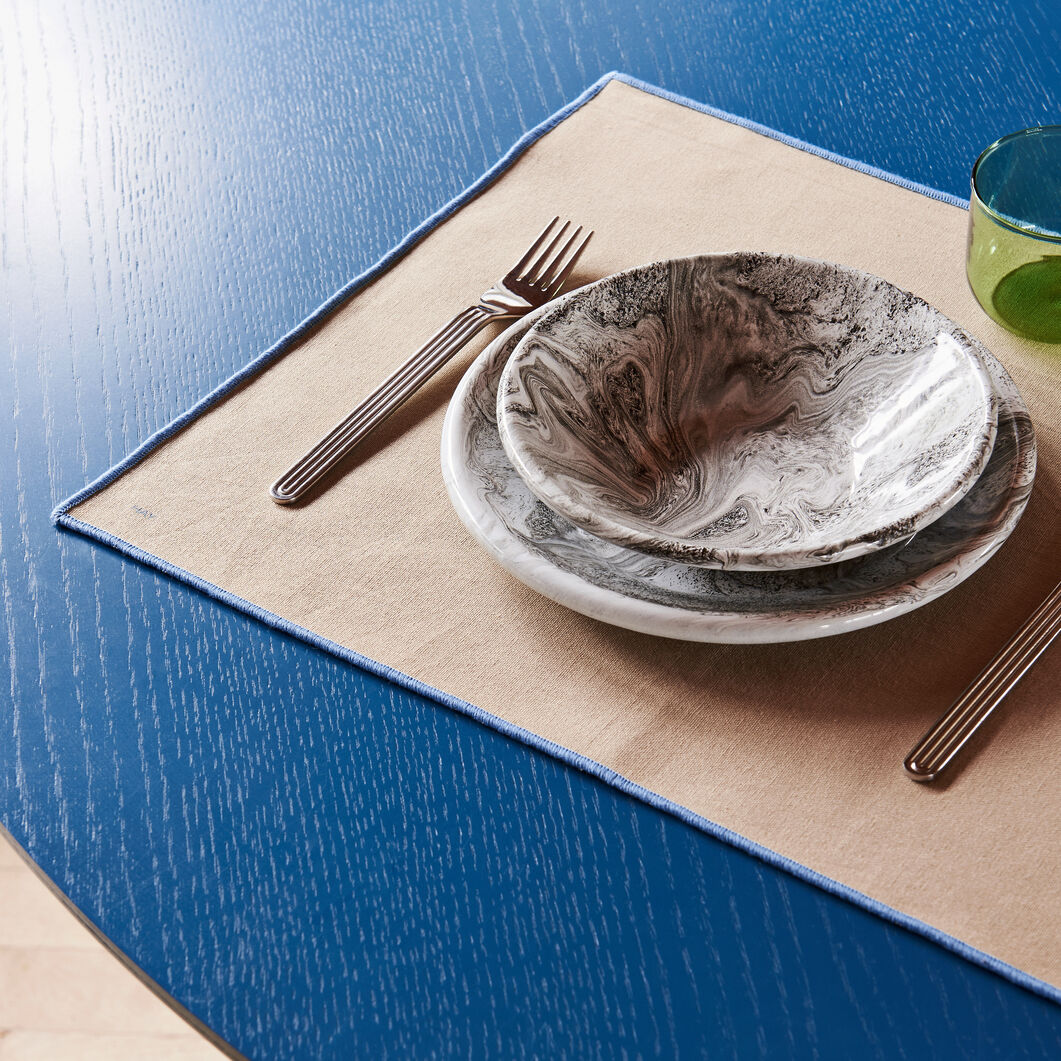 HAY Cotton Placemats - Set of 4 in color Gray