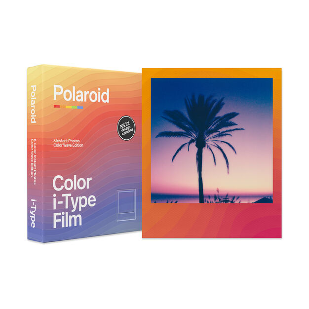 Polaroid Color Film for i-Type - Color Wave Edition in color