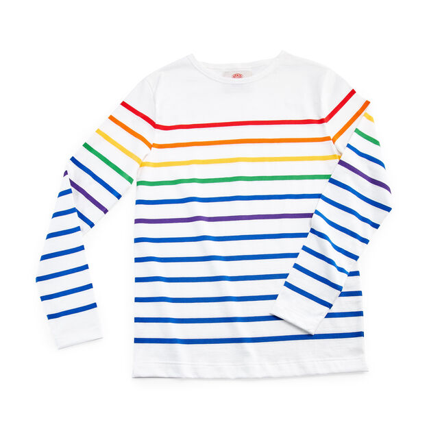 Breton Pride Shirt in color White/ Multi