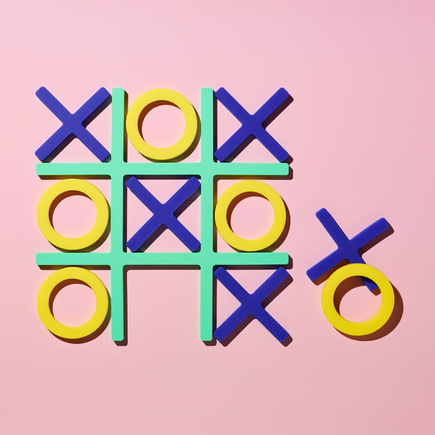 Tic-Tac-Trivet in color Cool