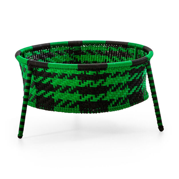 M'Afrique Jardin Suspendu Planter in color Black/Green