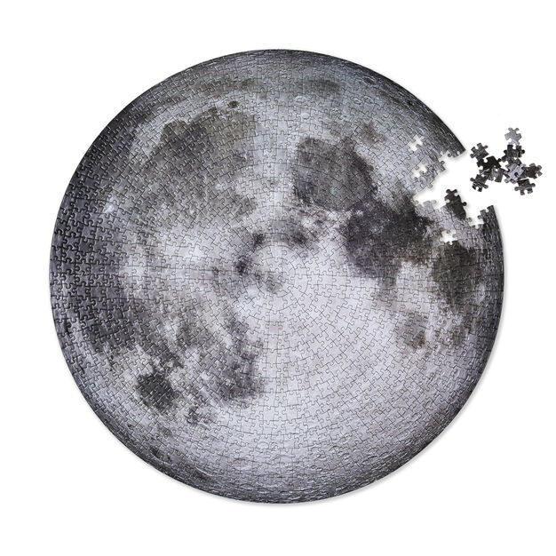 The Moon Jigsaw Puzzle - 1,000 Pieces in color Moon
