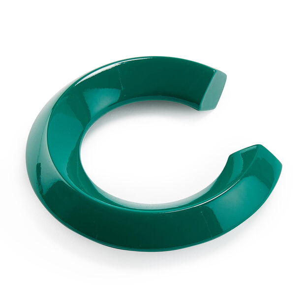 Uncommon Matters Urushi Wood Serif Bangle in color