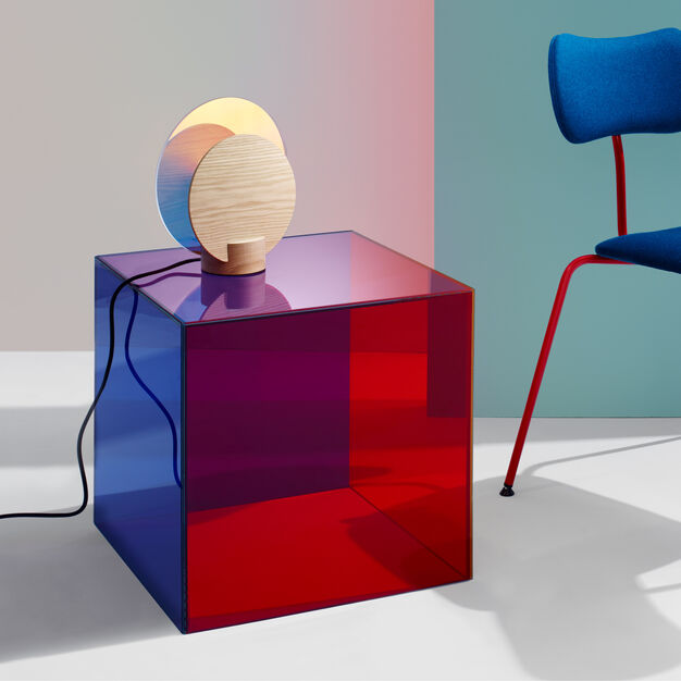 Radiant Table Lamp in color