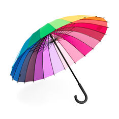 Color Wheel Umbrella in color