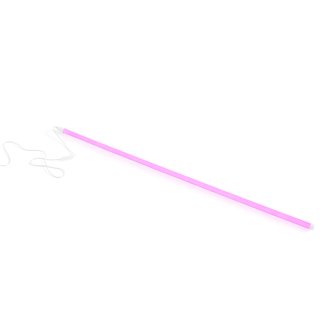HAY Neon LED Tube Light in color Pink