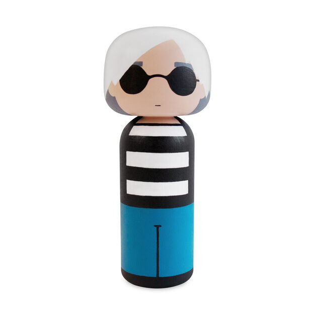 Artist Wooden Dolls in color Andy
