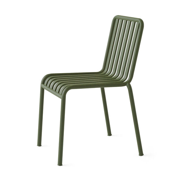HAY Palissade Outdoor Chair in color Green