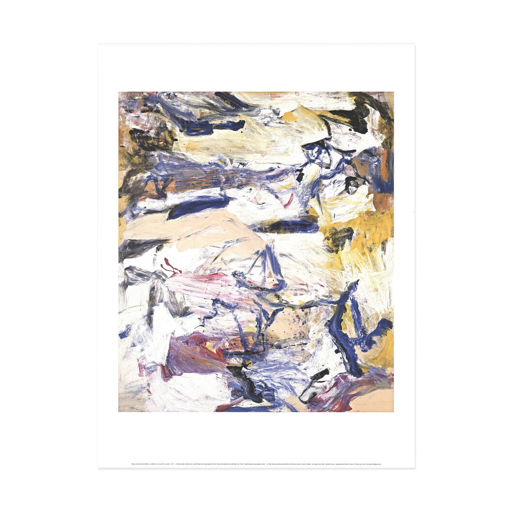 Willem de Kooning: North Atlantic Light Poster in color