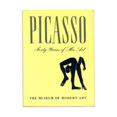 Picasso: Forty Years of His Art (4th Printing) - Hardcover in color