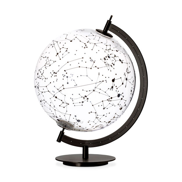 Mod Glass Globe - Sky in color