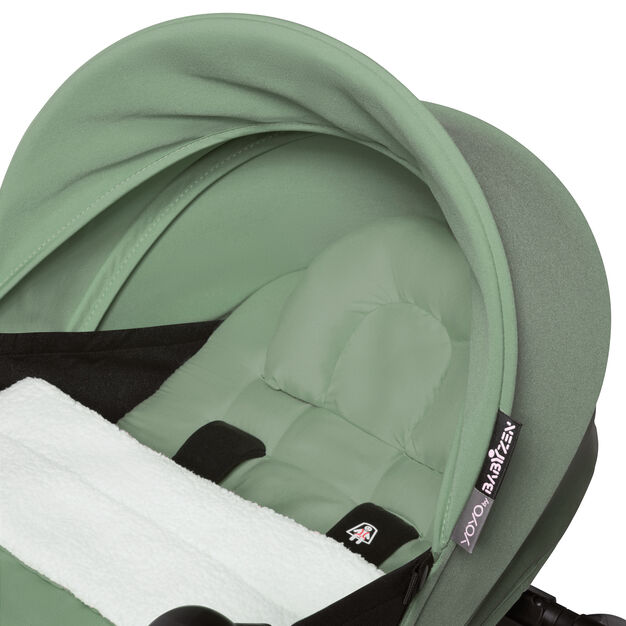 "<div>Babyzen™ <span style=""font-weight: 400;"">YOYO<sup><span style=""font-weight: 400;"">2</span></sup></span> 6+ Complete Stroller</div> in color Mint/ White"