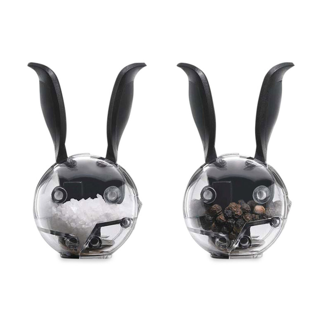 Bunny Salt & Pepper Mills in color