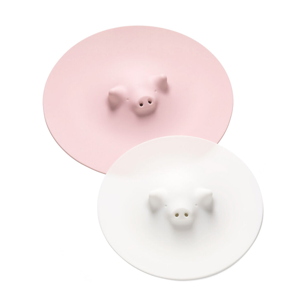 Pig Cooking Lid in color Pink