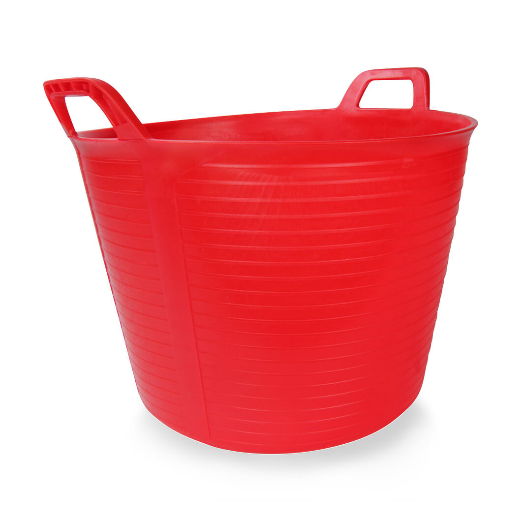 Flextub 40L Bucket in color Red