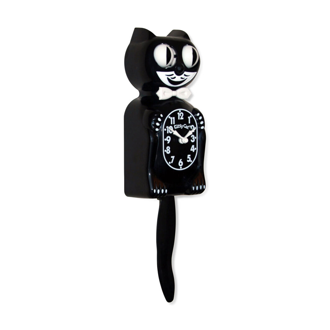 Kit-Cat Clock in color Black