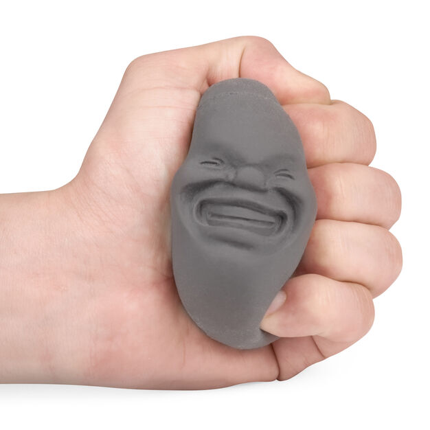 Face of the Moon Stress Ball in color