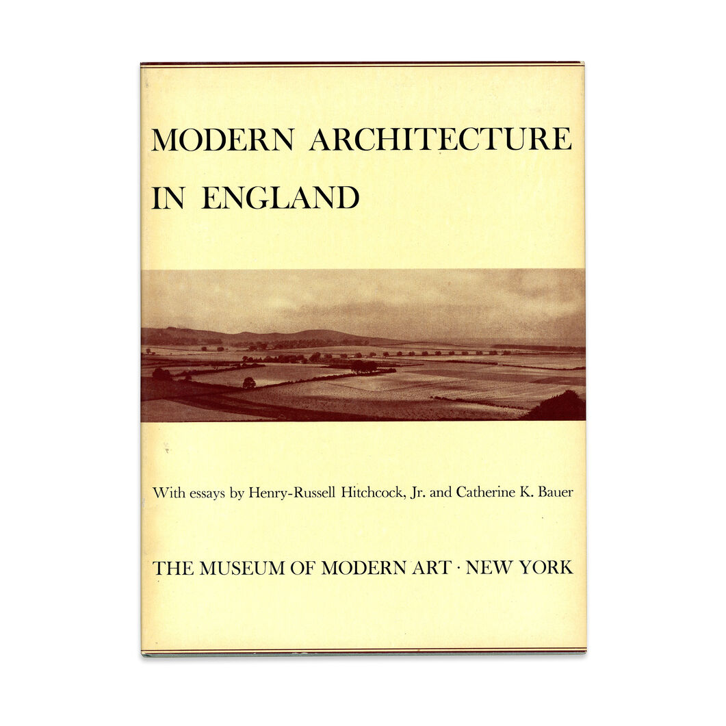 Modern Architecture in England - Hardcover in color