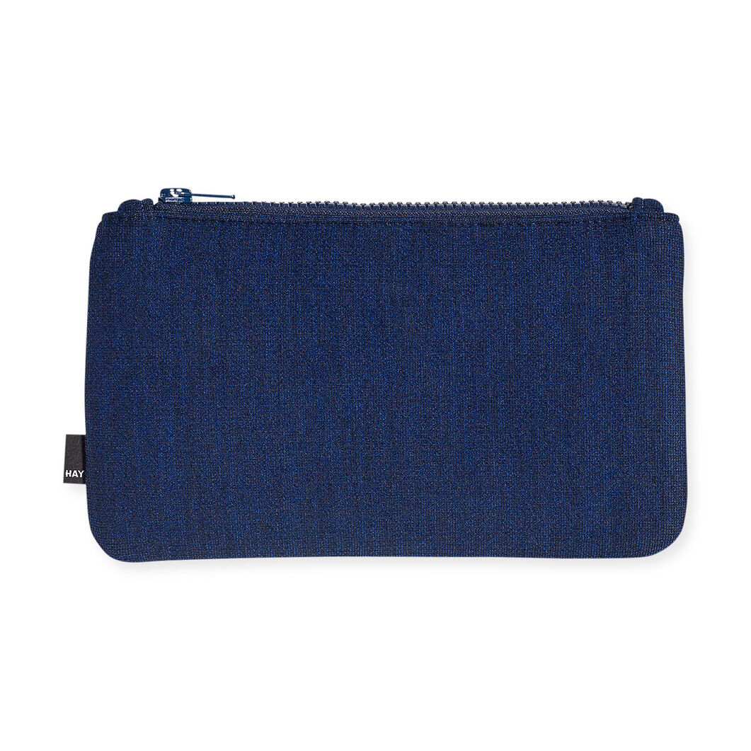 HAY ZIP Purse Blue in color Blue