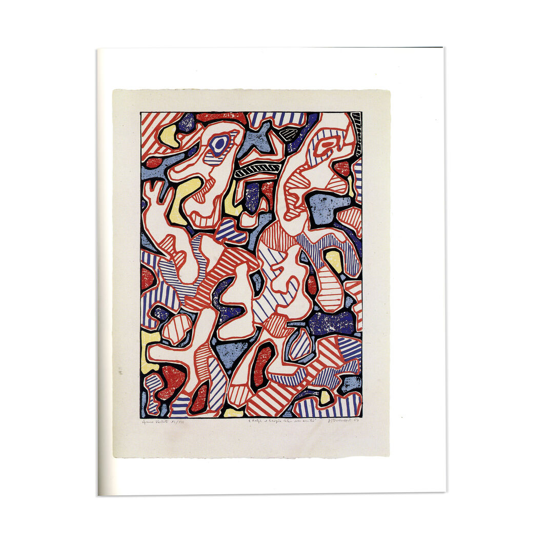 Dubuffet Prints from The Museum of Modern Art - Paperback in color