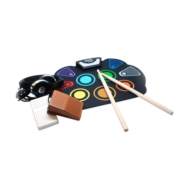 Rock and Roll It Drum in color Multi