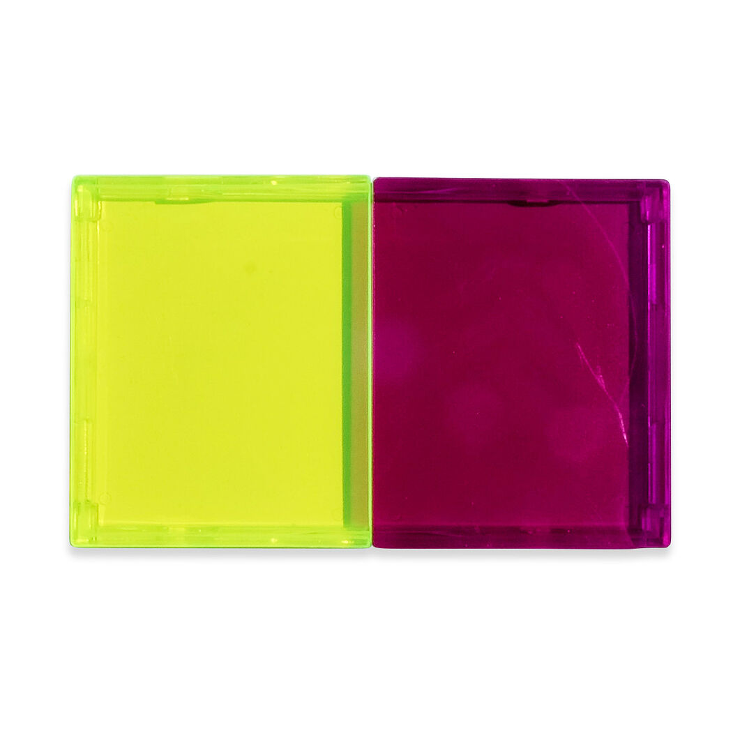 Sonoiro Card Case in color Purple/ Yellow