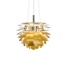 PH Artichoke Pendant Lamp in color Brass