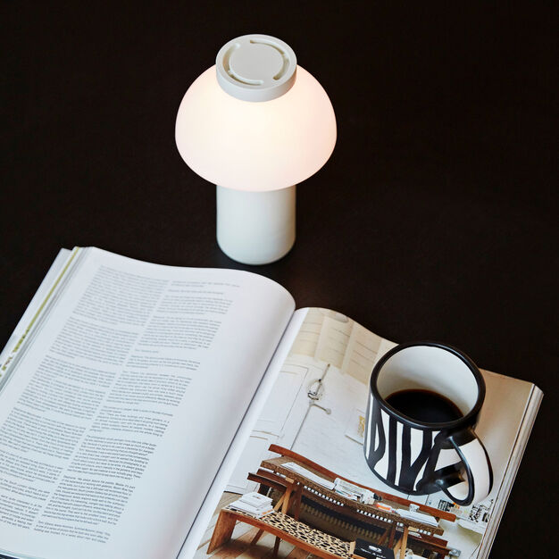 HAY PC Portable Lamp in color White
