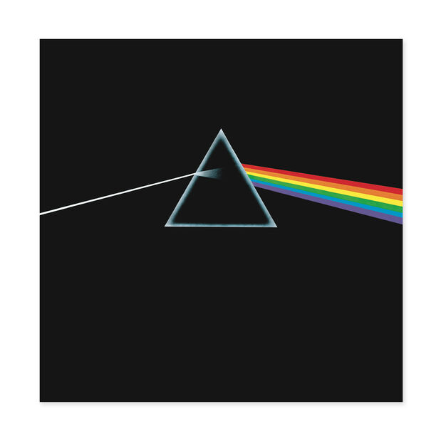 Pink Floyd: Dark Side Of The Moon Vinyl Record in color
